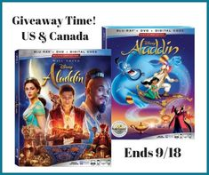 #Aladdin Signature Collection & Live Action Blu-Ray #Giveaways!