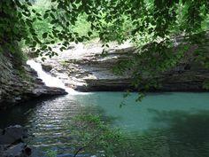 Lula Lake Land Trust, Waterfall, Lookout Mountain, GA,