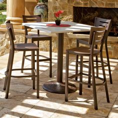 Telescope Casual Avant MGP Stacking Barstool | From Hayneedle.com. Counter  Height ...