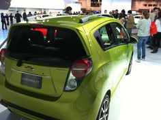 """""""Jalapeno"""", shown on 2013 Chevrolet Spark at Chicago Auto Show"""