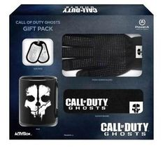 Call of Duty Ghosts Gift Pack (Mug, Hat, Dog Tags, Touch Gloves) No Game COD