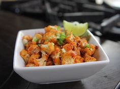 """Spicy Cauliflower Stir-Fry - """"The Pioneer Woman"""", Ree Drummond on the Food Network. Healthy Low Carb Recipes, Vegetable Recipes, Vegetarian Recipes, Healthy Meals, Whole30 Recipes, Healthy Soup, Cauliflower Stir Fry, Cauliflower Recipes, Indian Cauliflower"""