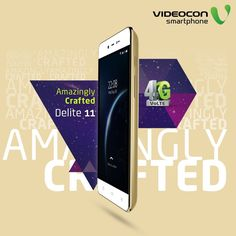 Get the amazing #Videocon Delite 11, crafted to delight you with its stunning looks! Know more - http://www.videoconmobiles.com/delite11v50ma
