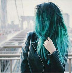 Turquoise hair dream goals