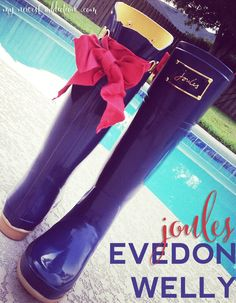 Joules Evedon in Navy - My Newest Addiction