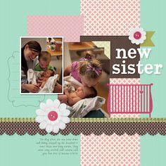 Stampin' Up!  My Digital Studio  Erica Shaw  Digital Scrapbook Layout