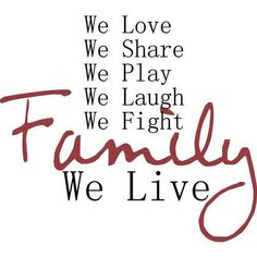 family quotes | Thank you for your support and encouragement!