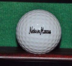 Vintage Neiman Marcus logo golf ball. Number 1