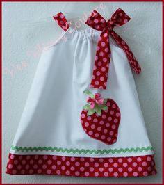 Fun Pillow Case Dresses http://weewhimsycouture.com/catalog.htm