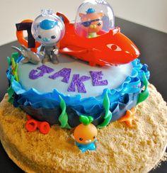 Octonauts Cake--image only