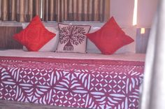 Bedspread. Applique *MIrrorwork *Patchwork
