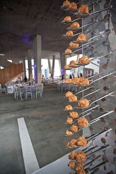 food display ideas, buffet options, food on walls for events, interactive party Party Snacks, Appetizers For Party, Appetizer Recipes, Catering Display, Catering Food, Lenotre, Food Stations, Food Displays, Appetisers