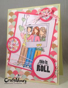 Angie Girls, Unity Stamp Company, Bubblegum Pink Timeless Twine