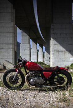 Kawasaki KZ 440 LTD brat bob, my first bike mod.