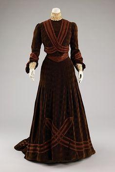 Afternoon Dress  Jeanne Hallée,    c.1903  The Metropolitan Museum of Art
