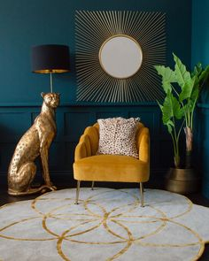 Audenza Quirky Homeware Unique Furniture Unusual Home Accessories # Estilo Hollywood Regency, Salon Art Deco, Art Deco Home, Quirky Homeware, Scalloped Oysters, Living Room Decor, Bedroom Decor, Art Deco Bedroom, Quirky Living Room Ideas
