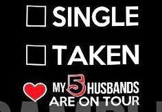 Those five husbands are One Direction!