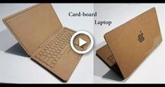 How to Make A laptop with Cardboard : Apple laptop - Modern Quick Crafts, Diy Home Crafts, Creative Crafts, Fun Crafts, How To Make Magic, How To Make Diy, Ag Doll Crafts, Toddler Crafts, Preschool Arts And Crafts