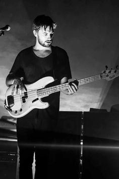 He's the bassist. | Get To Know: Ross MacDonald Of The 1975