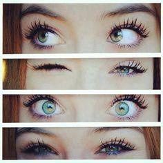 Beautiful Eyes Color, Pretty Eyes, Cool Eyes, Amazing Eyes, Lovely Eyes, Makeup Goals, Beauty Makeup, Makeup Eyes, Eye Expressions