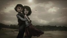 A Short Love Story In Stop Motion. Amazing!