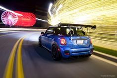 Tyler P. bends both light and minds in this #MINIAndTheCity fan favorite submission for December's Photo Challenge. Congratulations, Tyler!