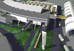 Terminal Multimodal de Passageiros Ramos de Azevedo   Douglas Piccolo Arquitetura e Planejamento Visual