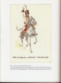 Command and staff: Plate 23: Aide-de-Camp of Marshal Massena, 1809.