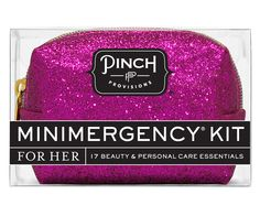 no party emergencies with this in tow... // Minimergency Kit