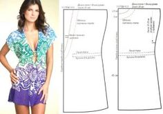 Trendy Ideas For Dress Pattern Sewing Website Dress Sewing Patterns, Clothing Patterns, Pattern Sewing, Free Pattern, Sewing Clothes, Diy Clothes, Diy Fashion, Ideias Fashion, Fashion Sewing