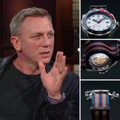 Daniel Craig aka James Bond again with his Omega Seamaster 😉⠀ Omega Speedmaster, Omega Watches Seamaster, Amazing Watches, Beautiful Watches, Cool Watches, Daniel Craig, Craig James, Dream Watches, Sport Watches