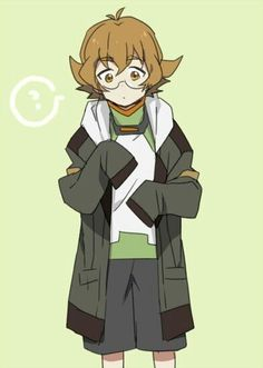 Aw, Lance has given Pidge his jacket!