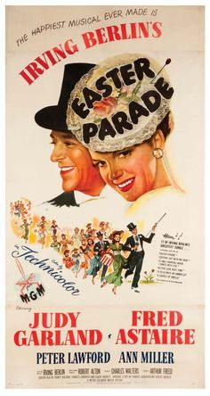 Easter Parade original 1948 U.S. three-sheet poster : Lot 203