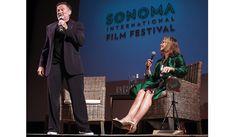 Sonoma Intl Film Festival, with Lauren Hutton and Robin Williams