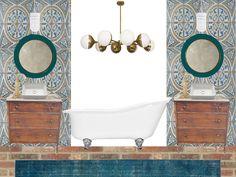 Master bath design p