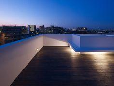 青戸の住宅: ハイランドデザイン一級建築士事務所が手掛けたtranslation missing: jp.style.バルコニー-テラス.minimalistバルコニー&テラスです。