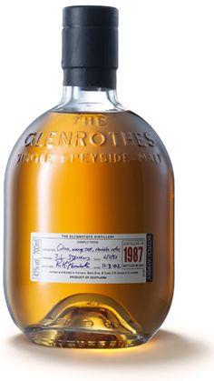 Vintage 1987 single malt whisky from Glenrothes; available from Whisky Please.