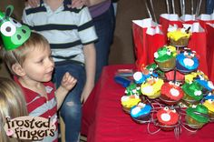 Our Angry Birds birthday party