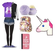 """""""Anatomy of Simzmimz"""" by jdevine87509 on Polyvore featuring Hue, CellPowerCases, JanSport, Converse and Eos"""