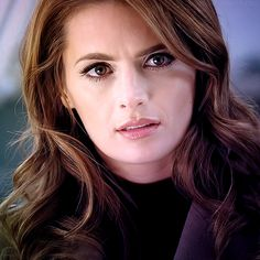 Stana Katic - Amazing actress, and even more amazing human being. I want her hair.