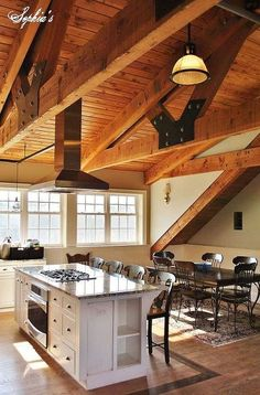 """Can you imagine living in a barn? Check out this incredibly beautiful apartment housed above an equestrian barn and I guarantee you""""ll see barn-living in a diff… Barn Loft Apartment, Garage Apartment Interior, Apartment Ideas, Building A Barn Door, Building Homes, Barn House Plans, Barn Plans, Studio Apt, Garage Studio"""