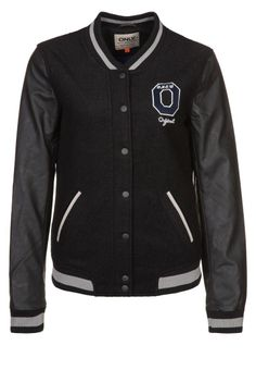 bf29f03bfa6f  Veste Only  noire sur  Zalando     sportswear Sport Chic