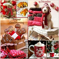 No automatic alt text available. Christmas Collage, Merry Christmas To All, Little Christmas, Winter Christmas, Christmas Holidays, Christmas Decorations, Collages, Illustration Noel, Illustrations