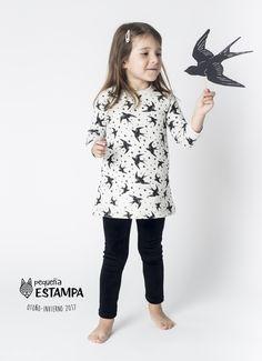 Campaña O/I 2017 pequeña ESTAMPA  Vestido niña