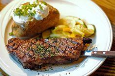 steak and potatos