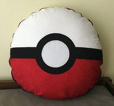 Pokemon Pokeball Pillow Tutorial