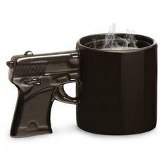 Gunman Handle Mug | Yellow Octopus