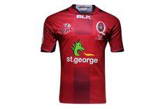 Queensland Reds 2016 Super Rugby Home Replica Shirt Super Rugby, Rugby Shirts, Red, Sports, Hs Sports, Sport