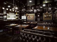 Weslodge Saloon, Toronto. Interior design by Studio Munge.