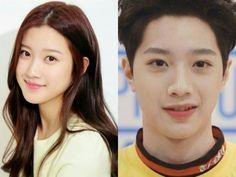 Lai Guanlin look alike actress Moon Ga Young